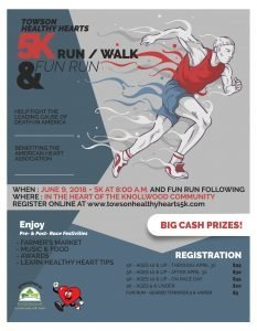 Towson Healthy Hearts 5K Run/Walk & Fun Run @ Knollwood Community