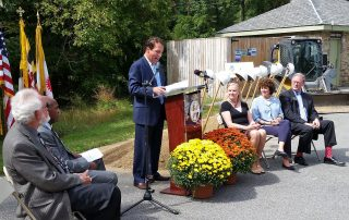 Groundbreaking, Lake Roland Nature Center, September 28, 2015
