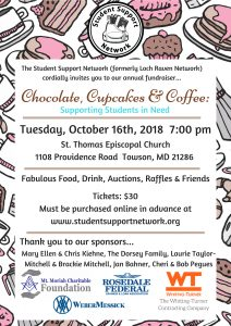 Student Support Network Annual Fundraiser @ St. Thomas Episcopal Church | Towson | Maryland | United States