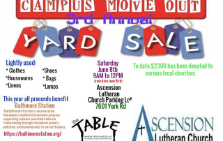 Campus Move-Out Yard Sale