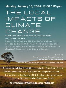 The Local Impacts of Climate Change @ Ascension Lutheran Church | Towson | Maryland | United States
