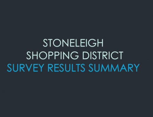 Results of Survey – South Towson/Stoneleigh Shopping District