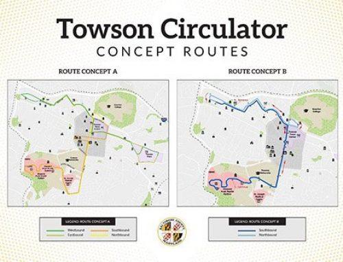 Olszewski Announces Major Updates for Towson Circulator