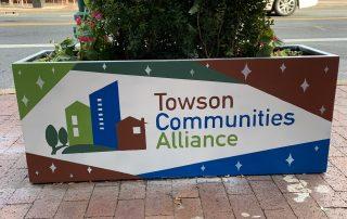Towson flower box